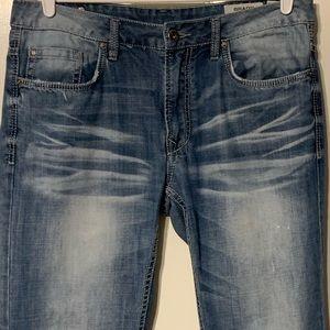 Buckle Buffalo David Bitton Brady Jeans 34x34 GUC